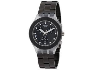 Swatch Diaphane Chronograph Black Full Blooded Unisex Watch SVCK4035G