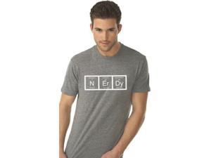 Nerdy Periodic Table T Shirt Funny Science Shirts Mens M