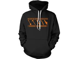 In Case of Zombie Apocalypse Choose Your Weapon Funny Hoodie S