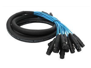 Elite Core PEX1610 16 Channel 10' Fan To Fan XLR Extension Snake Cable