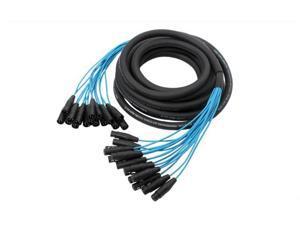 Elite Core PEX1630 16 Channel 30' Fan To Fan XLR Extension Snake Cable
