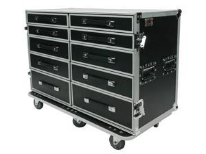 OSP PRO-WORK Mult-Functional Storage Case - Side by Side Drawer Case and Utility Table