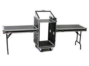 OSP PRO19 16 Space ATA Mixer/Amp Rack Case & Shelfs
