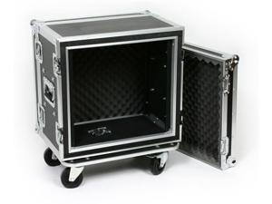 OSP SC10U-12 10 Space ATA Shock Mount Effects Rack Case w/Casters