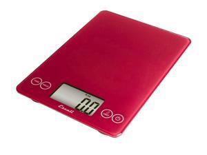 Escali Arti Digital Scale - Slim - Red