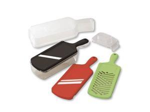Kyocera 6 Piece Easy Slice Adjustable Slicer, Julienne, & Mandoline Set