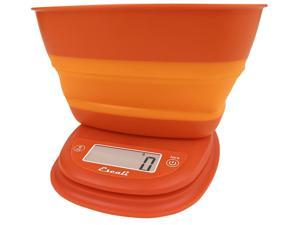 Escali Pop Scale Vintage Orange