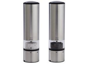 Peugeot Elis Sense Electric Salt & Pepper Mill Set, Stainless