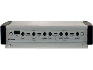 Kicker 40KX400.4+PK4 4-channel Amplifier w/ Amp Kit