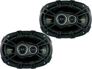 Kicker 40CS6934 CS-Series Coaxial Speakers - Pair (Black)