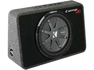 "Kicker 40TCWRT124 12"" Single Subwoofer Enclosure"