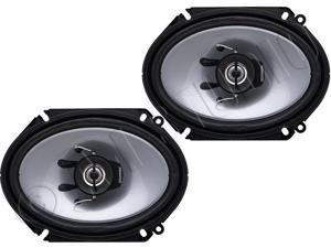 "Kenwood KFC-C6865S 6"" x 8"" 2-Way Car Speakers"