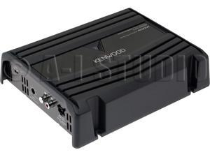 Kenwood P-W1220 2-Ch Car Amplifier w/ two Subs
