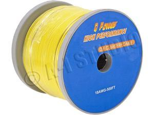 Q-Power 18AWG RC SPOOL YEL 500FT 18AWG Remote Cable Spool