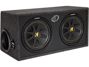 "Kicker DC122 (10DC122) 12"" Dual Subwoofer Enclosure"
