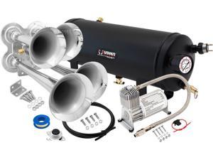 Vixen Horns VXO8715/4114 Full Train Air Horn System Kit