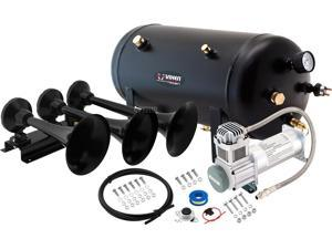 Vixen Horns VXO8350/3418B Full Train Air Horn System Kit