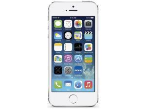 Apple iPhone 5s 16GB 4G LTE GSM Silver White - AT&T