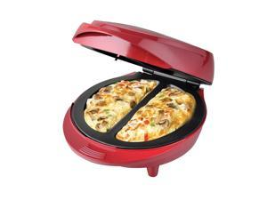 New Electric Non-Stick double omelette maker red, on Sale.