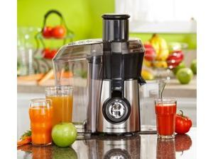 Big Mouth Juice Extractor 800 Watt Fruits Vegetable Smoothie Stainless Steel