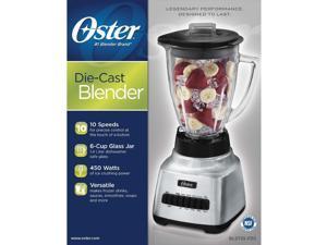 New Oster 10 Speed Blender 6 Cup Glass Jar 450 Watt Kitchen Mixer