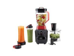 Oster Versa Performance Blender with Food Processor and Blend-N-Go Accessories, Black. BLSTVB-103