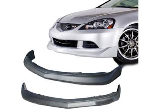 05-06 Acura Rsx Dc5 Mug Type Polyurethane Black Front Bumper Lip Spoiler