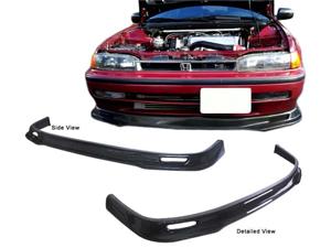 90-93 Honda Accord Type-S Real Carbon Fiber Front Bumper Lip Spoiler