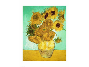 Sunflowers, 1888 Poster Print by Vincent Van Gogh (18 x 24)