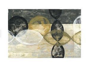 Half Moon II Poster Print by Jennifer Goldberger (44 x 30)