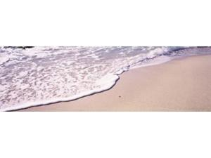 High angle view of surf on the beach, The Baths, Virgin Gorda, British Virgin Islands Print by Panoramic Images