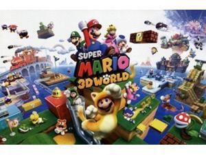 Super Mario 3D World Poster Print (34 x 22)