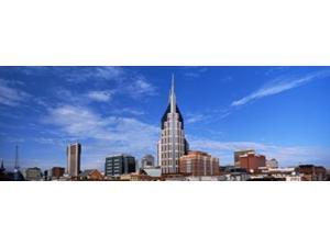 Buildings in a city, BellSouth Building, Nashville, Tennessee, USA 2013 Poster Print by Panoramic Images (34 x 12)
