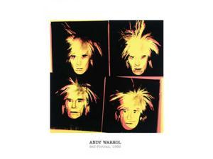 Self-Portrait, 1986 Poster Print by Andy Warhol (16 x 20)