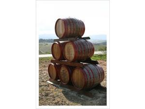 Wine Barrels, Tuscany Poster Print by Igor Maloratsky (13 x 19)