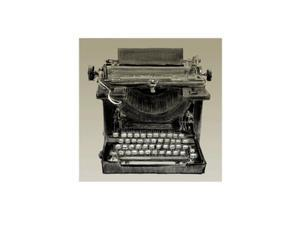 Vintage Typewriter, Underwood Poster Print by Clifford Faust (8 X 11)