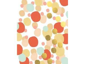 Abstract Painting Coral Poster Print by Linda Woods (8 x 10)