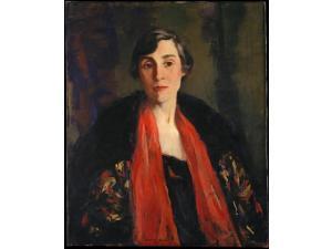 Mary Fanton Roberts Poster Print by Robert Henri (American, Cincinnati, Ohio 1865–1929 New York) (18 x 24)