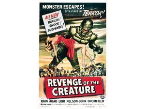Revenge Of The Creature 1955 Movie Poster Masterprint (11 x 17)
