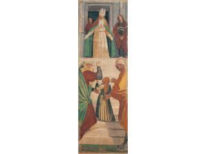Scenes From The Life Of The Virgin Presentation Of The Virgin In The Temple Poster Print (18 x 24)