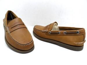 Sperry Top-Sider Men's A/O Penny Loafer Peanut Size 7M New!