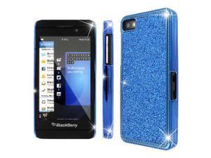 MPERO Collection Blue Sparkling Glitter Slim-Fit Glam Case for BlackBerry Z10