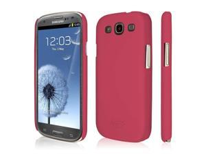 EMPIRE KLIX Slim-Fit Hard Case for Samsung Galaxy S III - Soft Touch Hot Pink