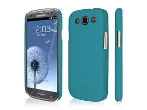 EMPIRE KLIX Slim-Fit Hard Case for Samsung Galaxy S III - Soft Touch Teal