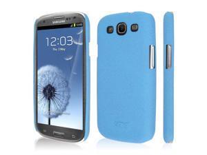 EMPIRE KLIX Slim-Fit Hard Case for Samsung Galaxy S III - Quicksand Light Blue