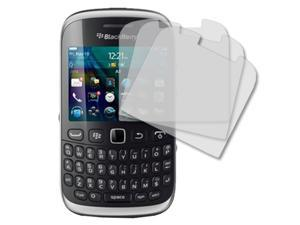 Blackberry Curve Screen Protector Cover, MPERO RIM BlackBerry Curve 9310 3 Pack of Screen Protectors [MPERO Packaging]