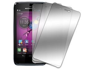 Motorola ATRIX HD Screen Protector Cover, MPERO Motorola ATRIX HD MB886 3 Pack of Mirror Screen Protectors