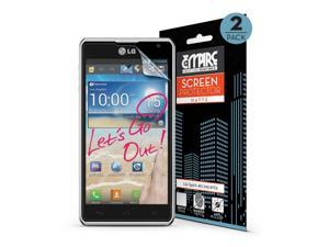 EMPIRE Premium MATTE Anti-Glare Screen Protectors for LG Spirit 4G MS870 - 2 Pack