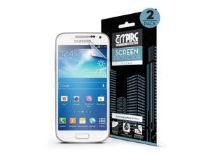 EMPIRE Premium CLEAR Screen Protectors for Samsung Galaxy S4 Mini - 2 Pack