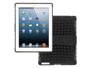 IMPACT SR Hybrid Kickstand Case, Apple iPad with Retina Display (3rd and 4th Gen), Black